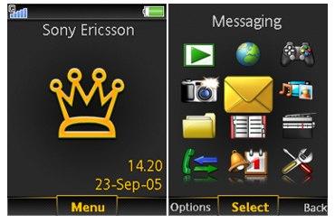 تم موبایل Reign برای گوشی های سونی اریکسون